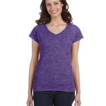 Ladies' SoftStyle Junior Fit V-Neck T-Shirt